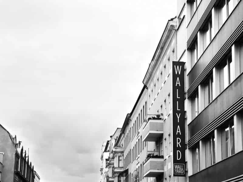 Wallyard Hostel Außenfassade Berlin