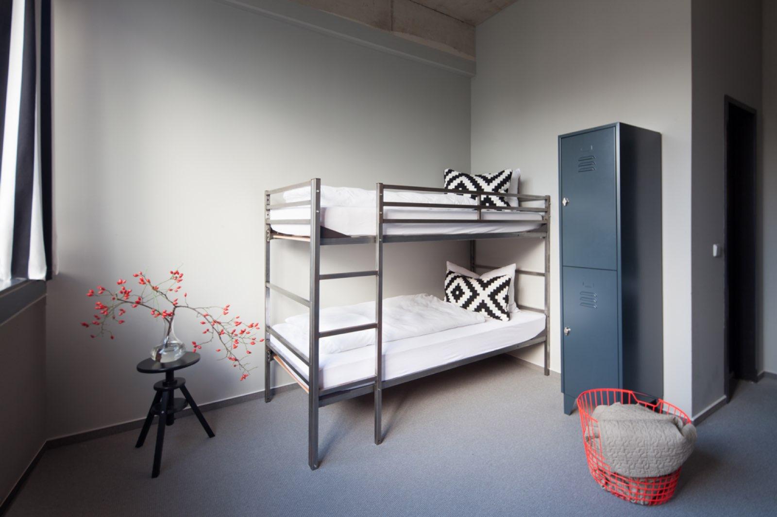 Mehrbettzimmer im Hostel Berlin - Wallyard