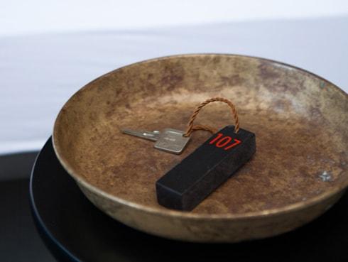 Schlüssel zum Zimmer Wallyard Hostel