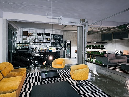 Lounge 3 Wallyard Hostel Berlin