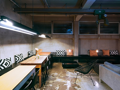 Lounge 6 Wallyard Hostel Berlin